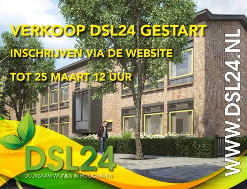 PERSBERICHT Succesvolle start verkoop circulair project DSL24 te Utrecht