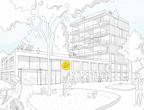 Woongroep de Nieuwe Meent wint tender voor pilot wooncoörporatie Archimedesplantsoen te Amsterdam