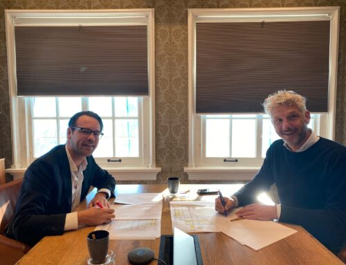 Ondertekening intentieovereenkomst Brand New Space Bv en Zephyr Real Estate BV