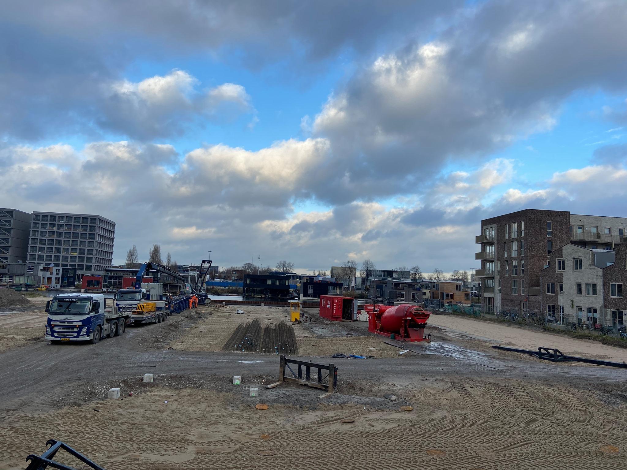 Heiwerk De Vrije Kade Amsterdam